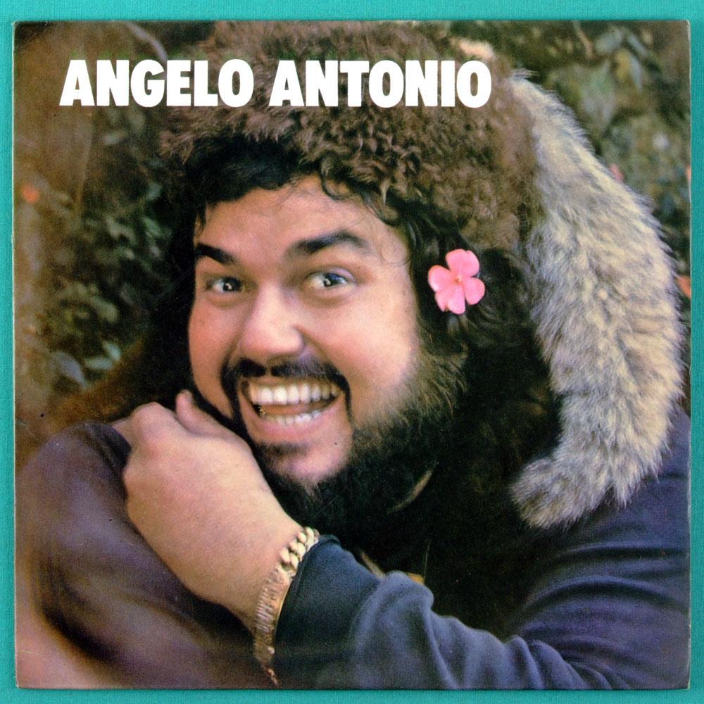 """7"""" ANGELO ANTONIO AMOR AMOR QUEM FOR FLAMENGO 1973 BRAZIL"""