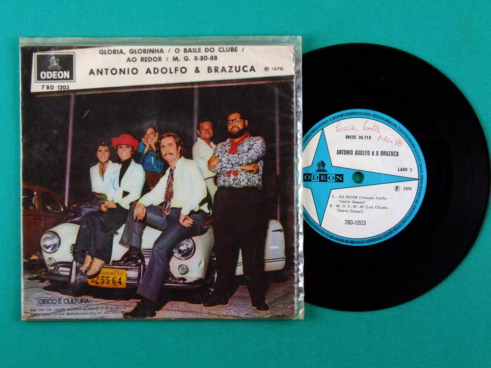 "7"" ANTONIO ADOLFO & BRAZUCA EP BOSSA SOUL MELLOW BRAZIL"