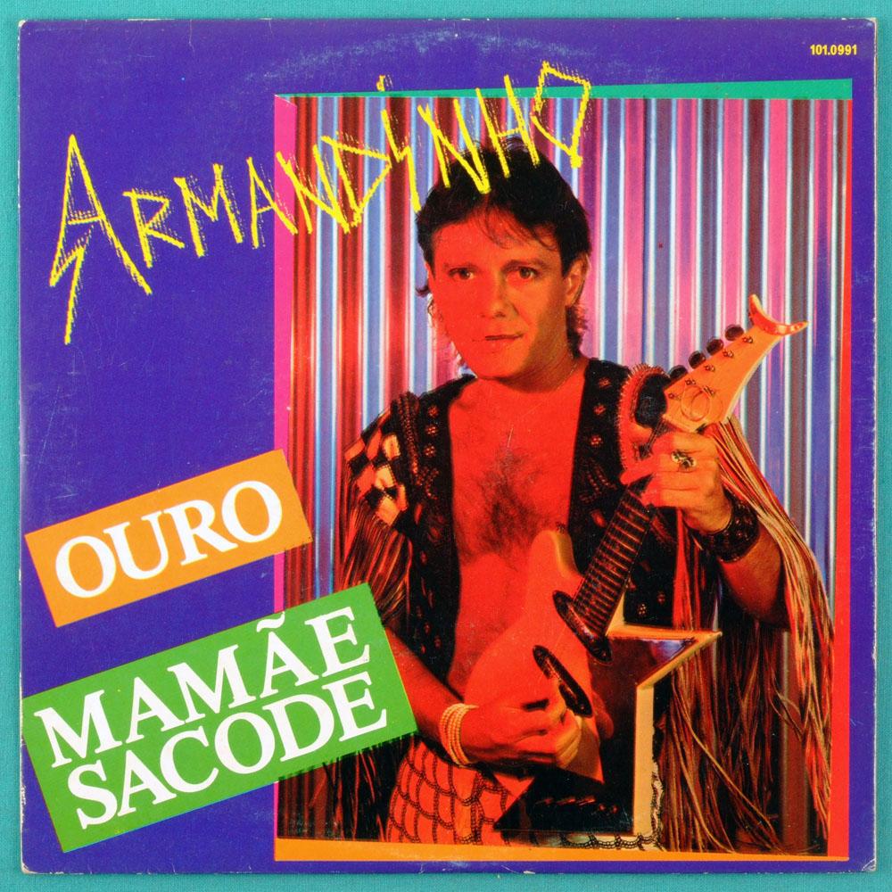 """7"""" ARMANDINHO OURO MAMAE SACODE TRIO ELETRICO 1985 BRAZIL"""