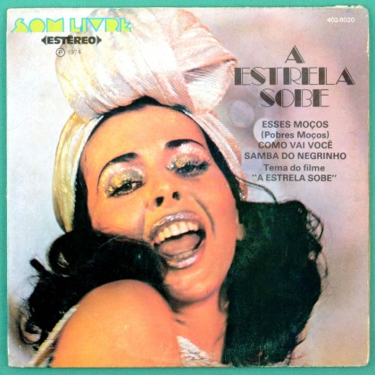 "7"" BETTY FARIA OST A ESTRELA SOBE ESSES MOCOS EP BRAZIL"