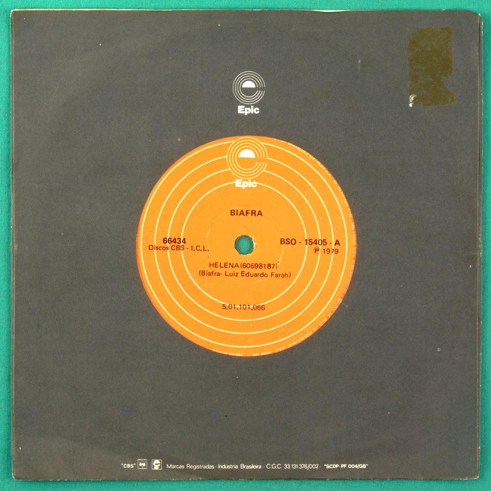 "7"" BIAFRA HELENA NOVA ESTRELA 1979  FOLK POP OST BRAZIL"