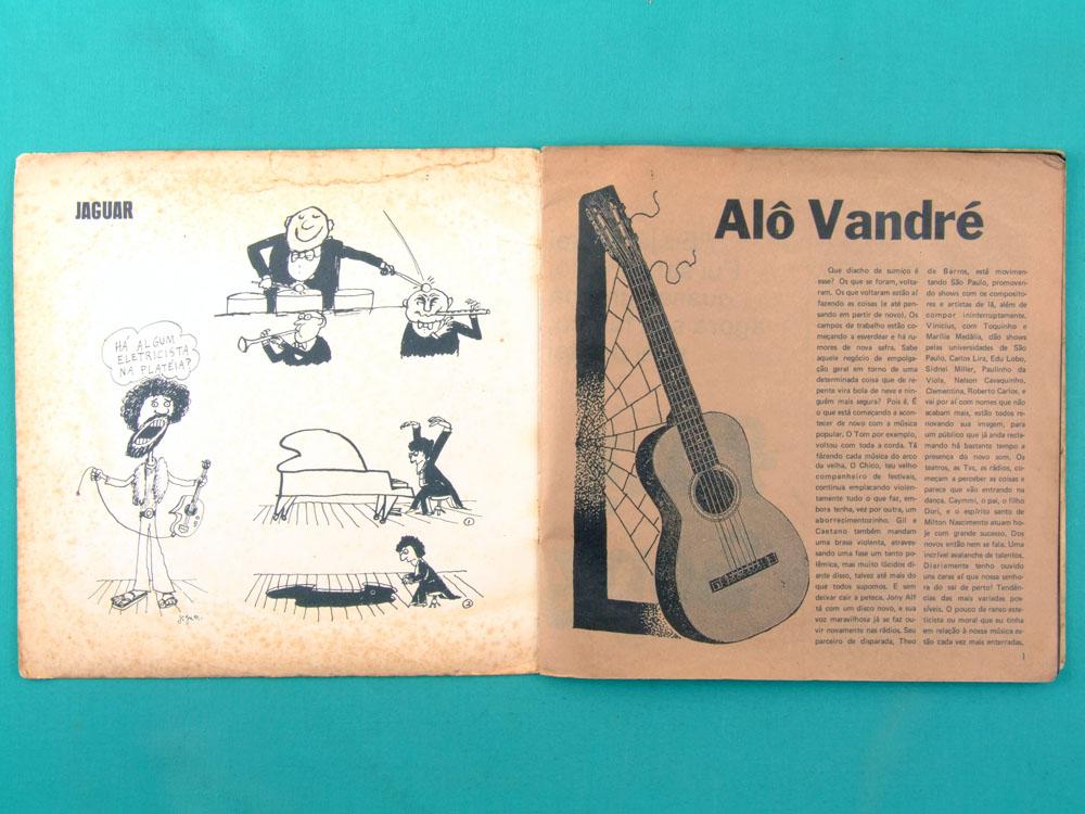 """7"""" CAETANO VELOSO FAGNER DISCO DE BOLSO 1972 BOSSA BRAZIL"""