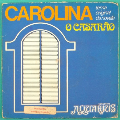 "7"" AQUARIUS CAROLINA SOAP FOLK BOSSA SAMBA CHOIR BRAZIL"