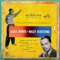 "7"" EARL HINES BILLY ECKSTINE 1940 SWING JAZZ FOLK 3-RECORD BOX SET USA"