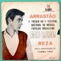 "7"" EDU LOBO ARRASTAO REZA BOSSA JAZZ TAMBA TRIO BRAZIL"