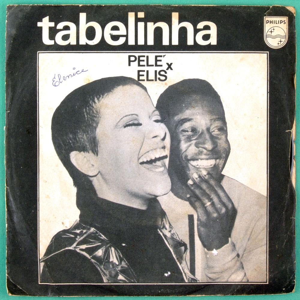 "7"" ELIS REGINA PELE TABELINHA 1969 BOSSA SAMBA BRAZIL"