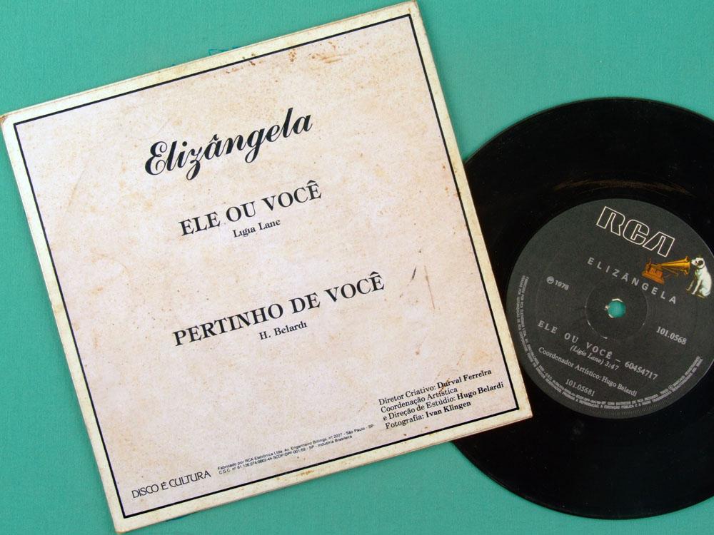 """7"""" ELIZANGELA ELE OU VOCE PERTINHO DE VOCE FUNK  BRAZIL"""