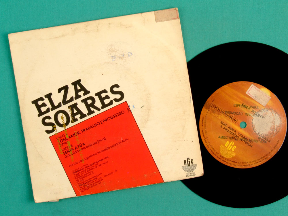 "7"" ELZA SOARES SENTA A PUA 1982 SAMBA BOSSA SOUL BRAZIL"