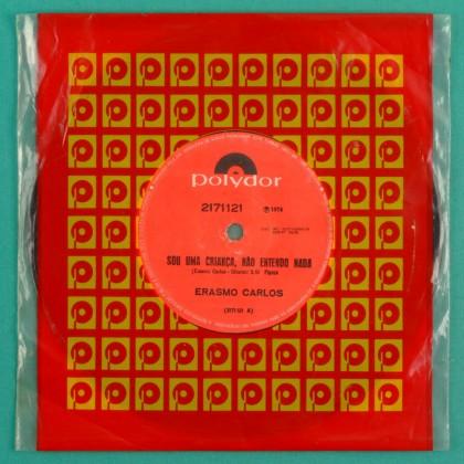 """7"""" ERASMO CARLOS SOU UMA CRIANCA 1974 ROCK PSYCH BRAZIL"""