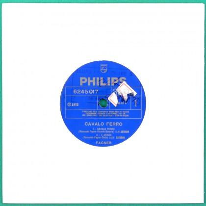 """7"""" FAGNER CAVALO FERRO FIM DO MUNDO 1972 FOLK EP BRAZIL"""