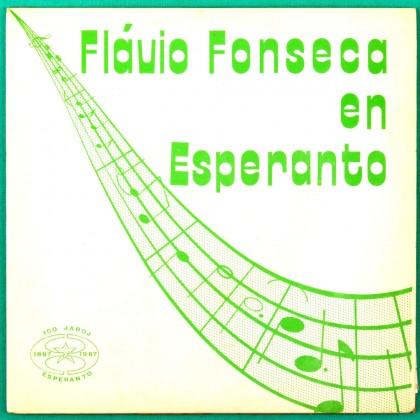 "7"" FLAVIO FONSECA EN ESPERANTO TRANS JAZZ BOSSA  BRAZIL"