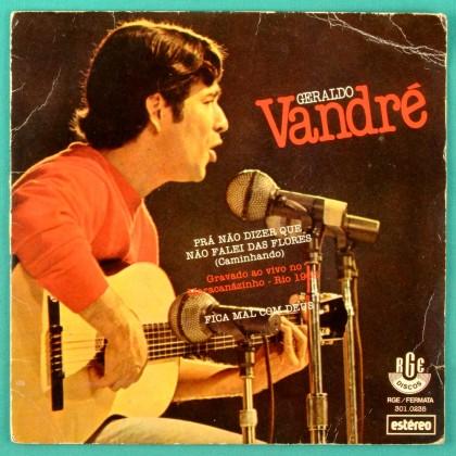 """7"""" GERALDO VANDRE CAMINHANDO FICA MAL COM DEUS BRAZIL"""