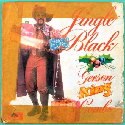 "7"" GERSON KING COMBO JINGLE BLACK 77 SOUL GROOVE BRAZIL"