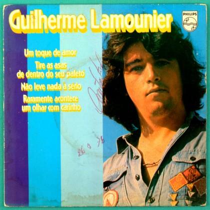 """7"""" GUILHERME LAMOUNIER UM TOQUE DE AMOR PSYCH EP BRAZIL"""