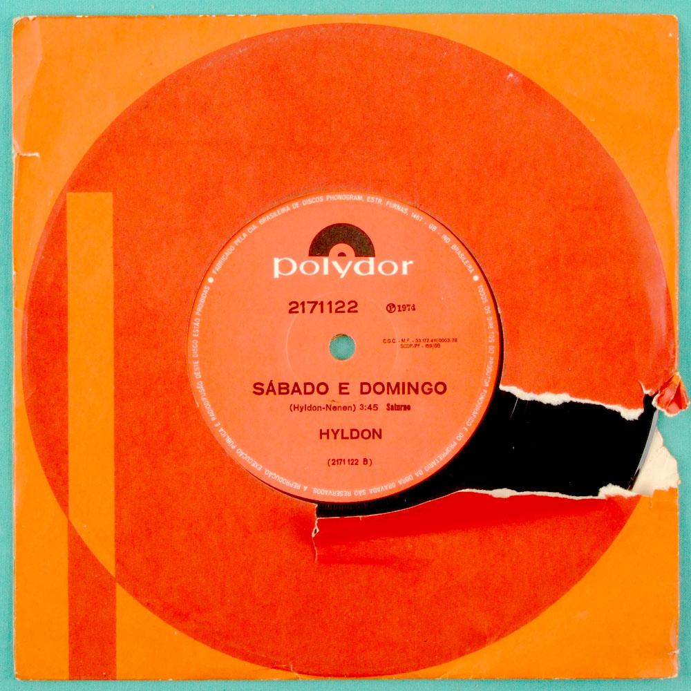 """7"""" HYLDON AS DORES DO MUNDO 1974 DJ SOUL GROOVE BRAZIL"""