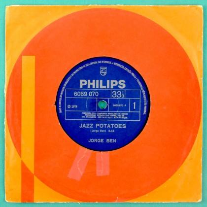"""7"""" JORGE BEN JAZZ POTATOES 1973 FUNK SAMBA SOUL BRAZIL"""