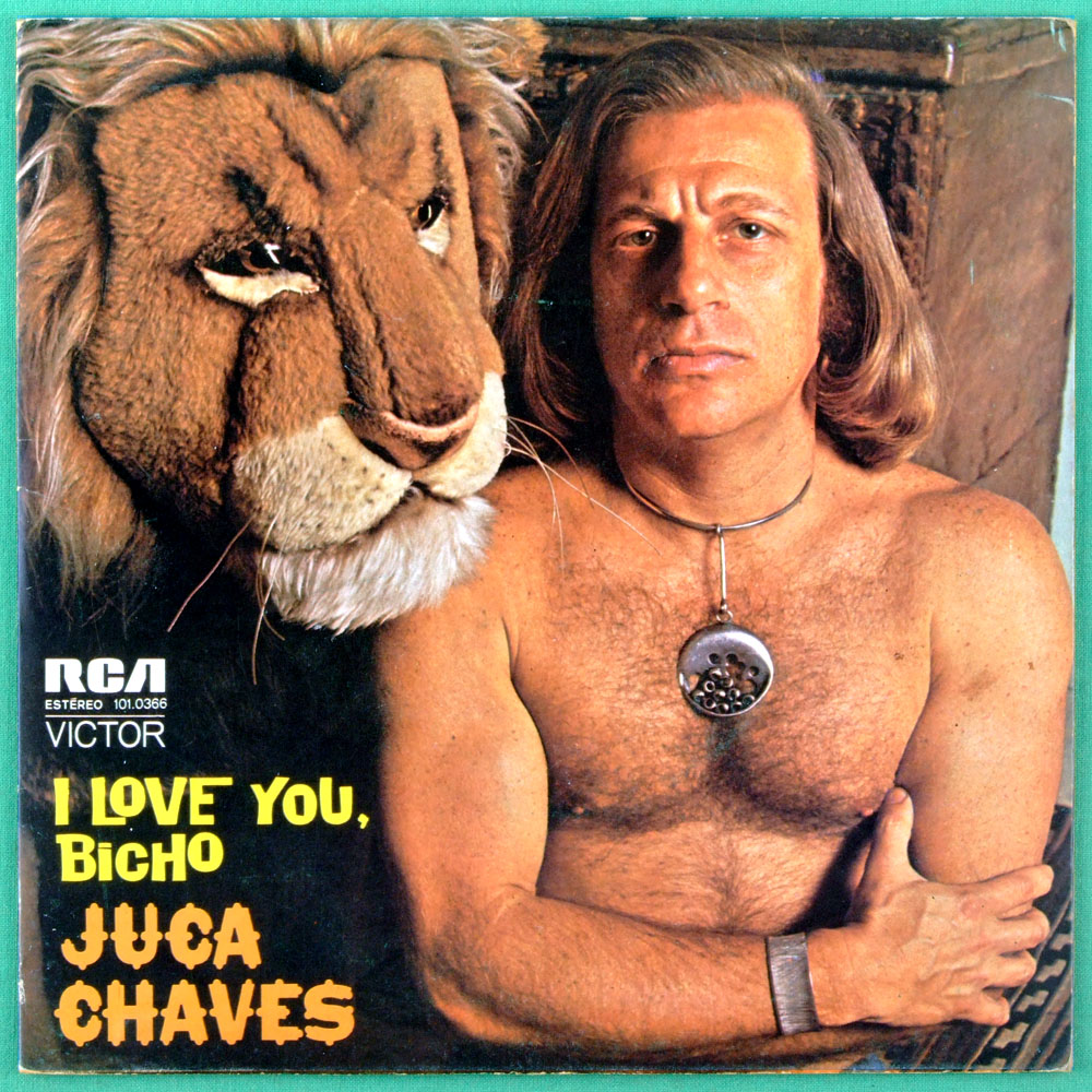 "7"" JUCA CHAVES I LOVE YOU BICHO HOMEM BRASILEIRO BRAZIL"