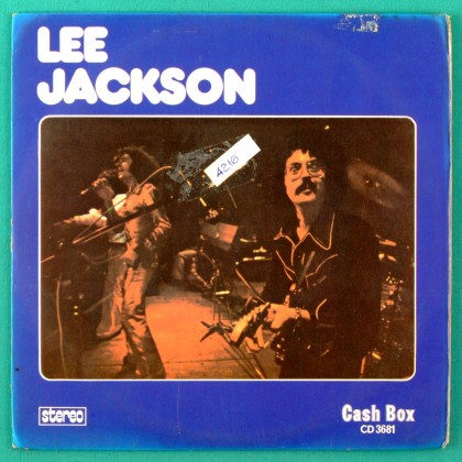 7' LEE JACKSON CHOO CHOO CHOO SUNSET JEAN I M WAITING ANNA 1974 FOLK ROCK BRAZIL