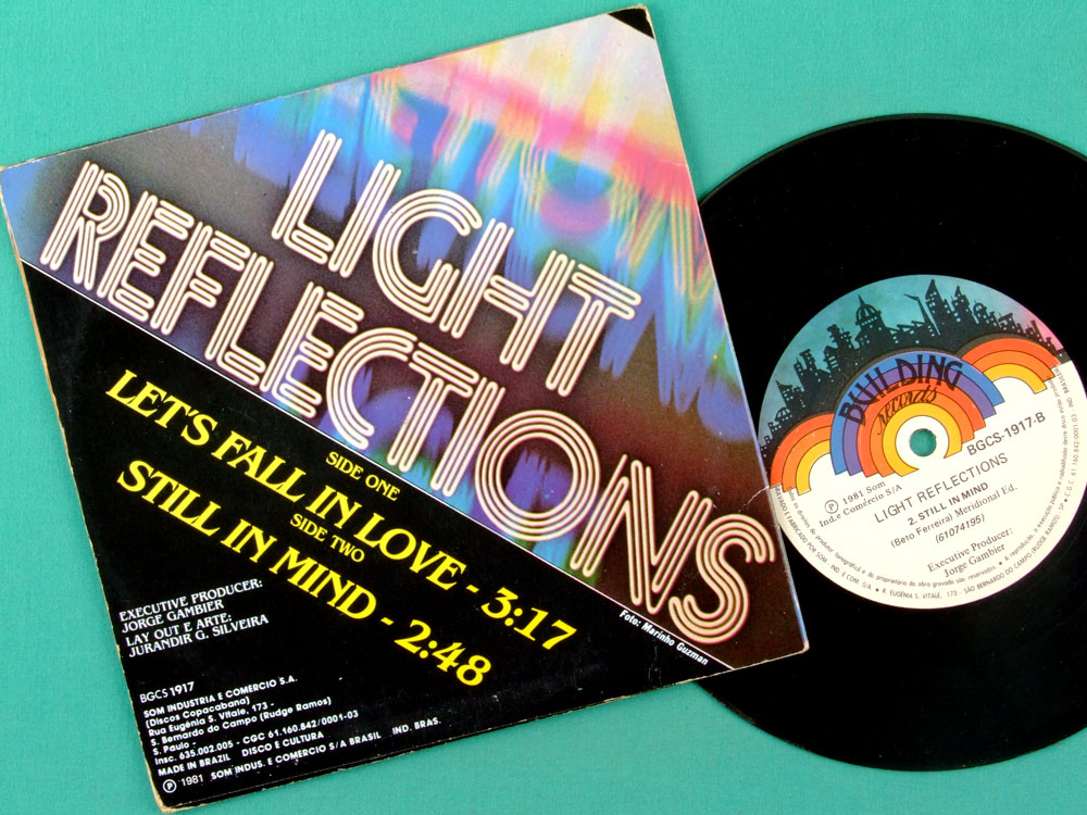 "7"" LIGHT REFLECTIONS TOBRUK STILL IN  MIND PSYCH BRAZIL"