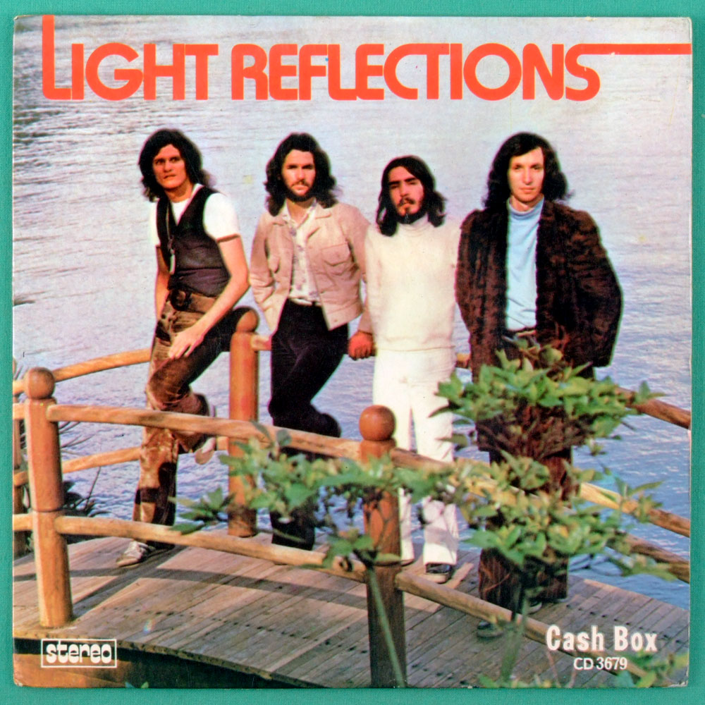 "7"" LIGHT REFLECTIONS TOBRUK 1974 PSYCH FOLK EP BRAZIL"