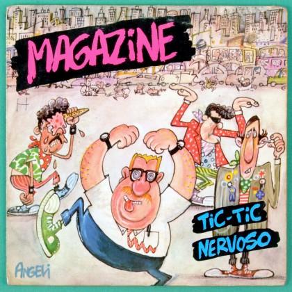 "7"" MAGAZINE TIC-TIC NERVOSO ATENTADO AO PUDOR 1984 BRAZIL"