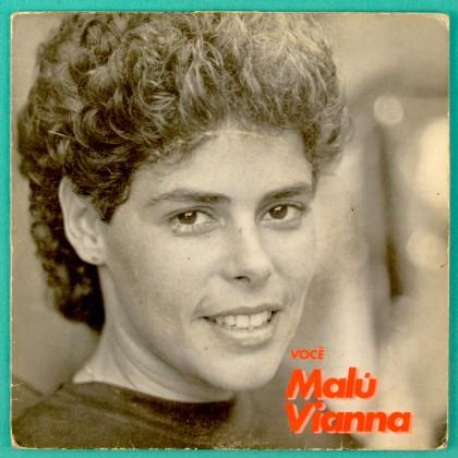 "7"" MALU VIANNA VOCE SAIO DO AR 83 FOLK ROCK FUNK BRAZIL"