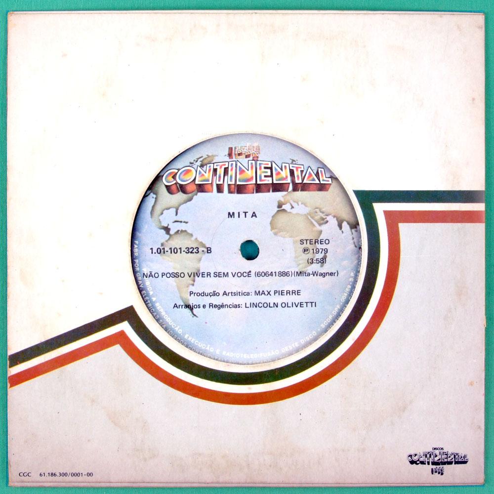 """7"""" MITA INCONSTANCIA 1979 SOUL GROOVE FUNK FOLK DJ BRAZIL"""