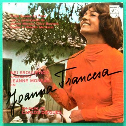 "7"" EP OST JOANNA FRANCESA CHICO BUARQUE FAGNER BRAZIL"