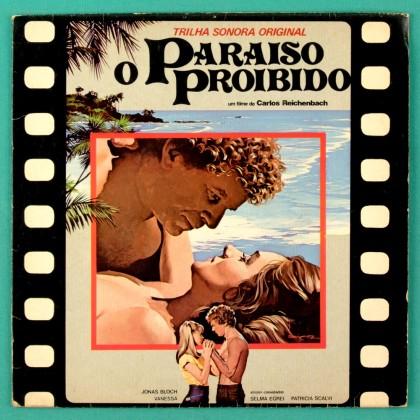 "7"" OST O PARAISO PROIBIDO 1981 HYLDON PAPETE FUNK BRAZIL"