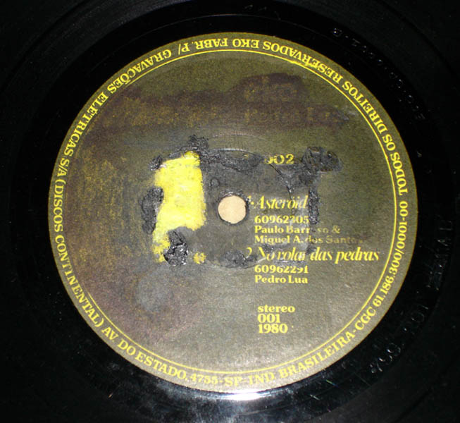 "7"" PEDRO LUA FOLK ROCK BLUESY PSYCH OBSCURE CULT INDEPENDENT EP BRAZIL"