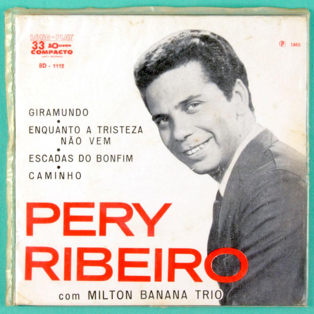 """7"""" PERY RIBEIRO MILTON BANANA GIRAMUNDO 1965 EP BRAZIL"""