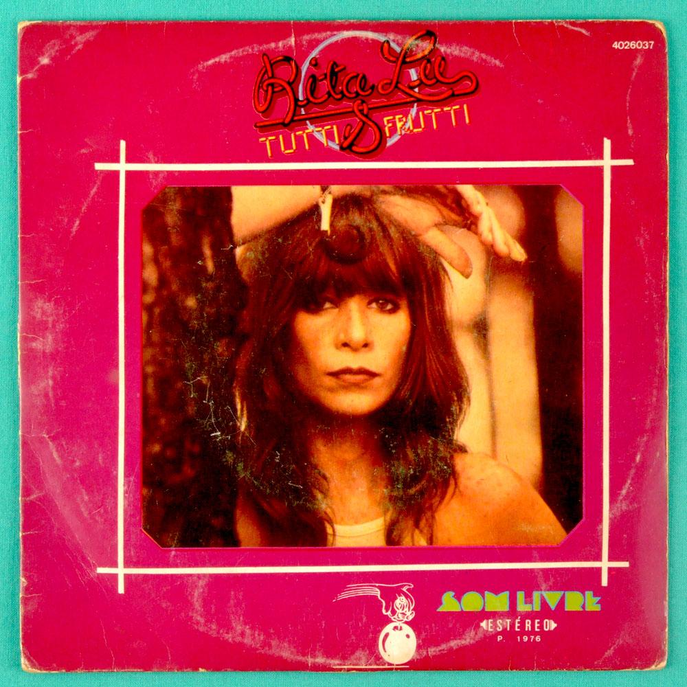 "7"" RITA LEE TUTTI FRUTTI LA VOU EU PSYCH ROCK 1976 EP BRAZIL"