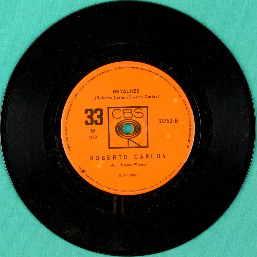 "7"" ROBERTO CARLOS UN GATTO NEL BLU FOLK POP BEAT BRAZIL"