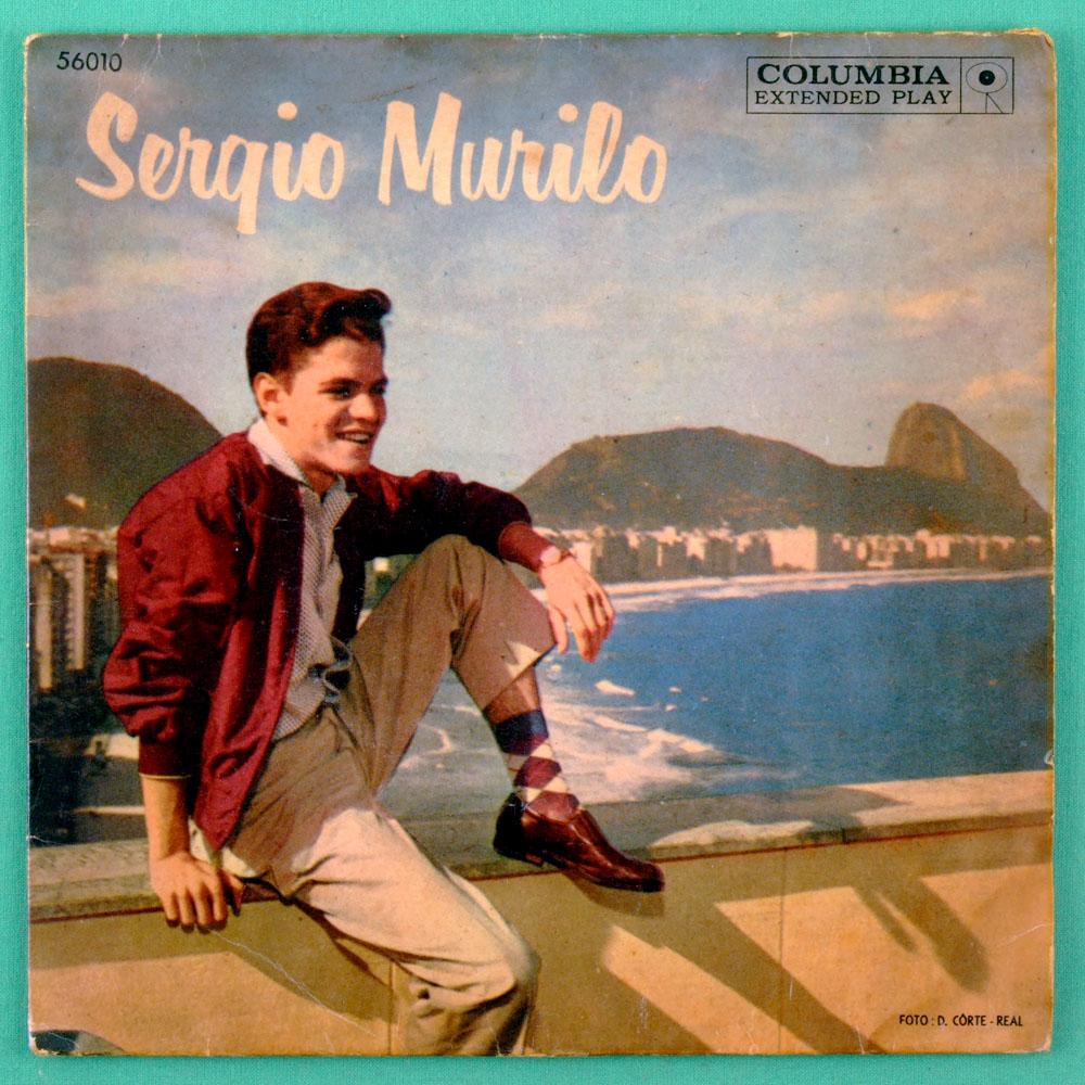 "7"" SERGIO MURILO EP OH CAROL JOVEM GUARDA ROCK FOLK BRAZIL"