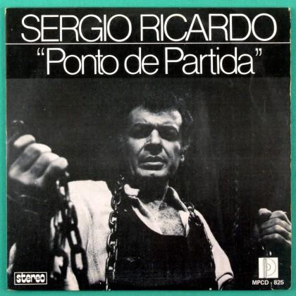 """7"""" SERGIO RICARDO PONTO DE PARTIDA FOLK BOSSA EP BRAZIL"""