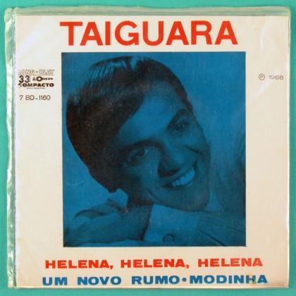 "7"" TAIGUARA UM NOVO RUMO HELENA 1968 FOLK EP BRAZIL"