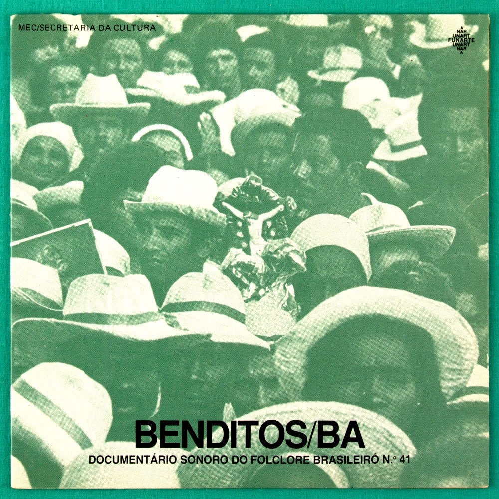 "7"" BENDITOS / BA REGIONAL DOCUMENTARIO SONORO DO FOLCLORE BRAZIL"