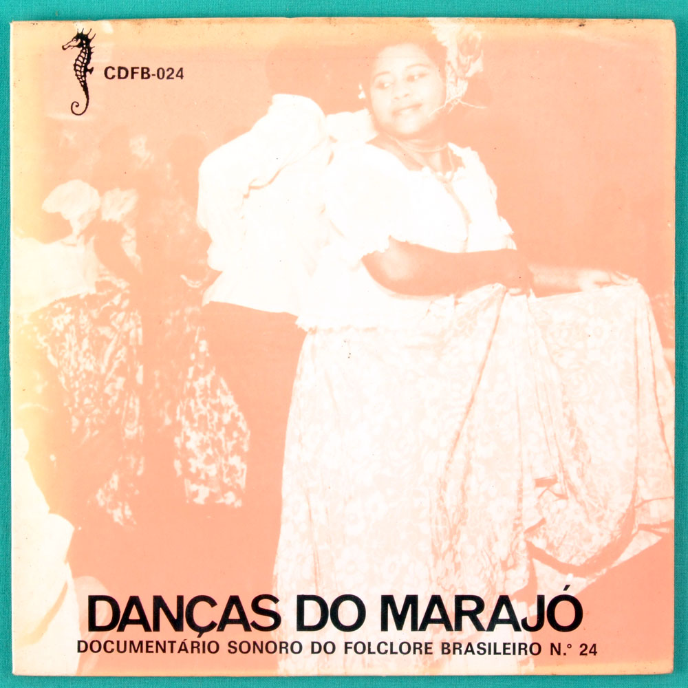 "7"" DANCAS DO MARAJO DOCUMENTARIO SONORO DO FOLCLORE BRAZIL"