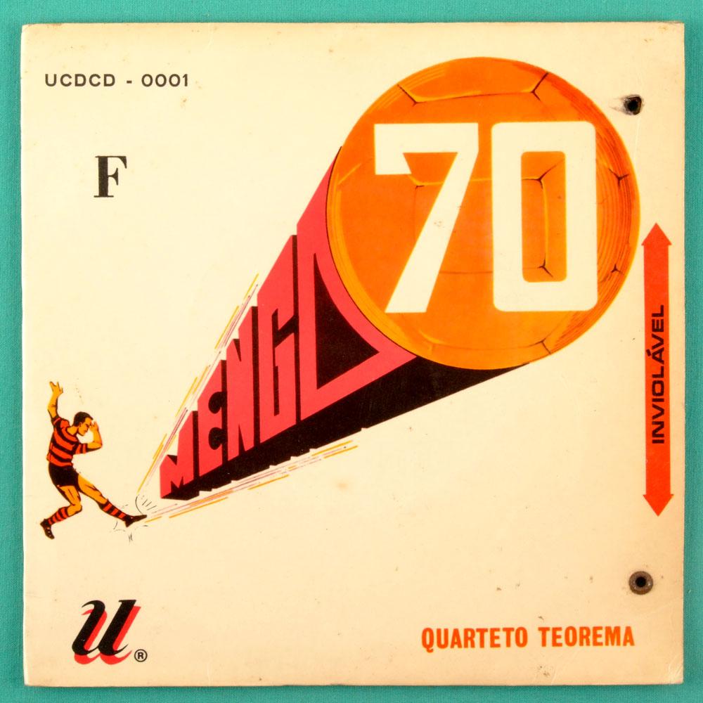 "7"" QUARTETO TEOREMA FLAMENGO 70 AQUELE ABRACO EP BRAZIL"