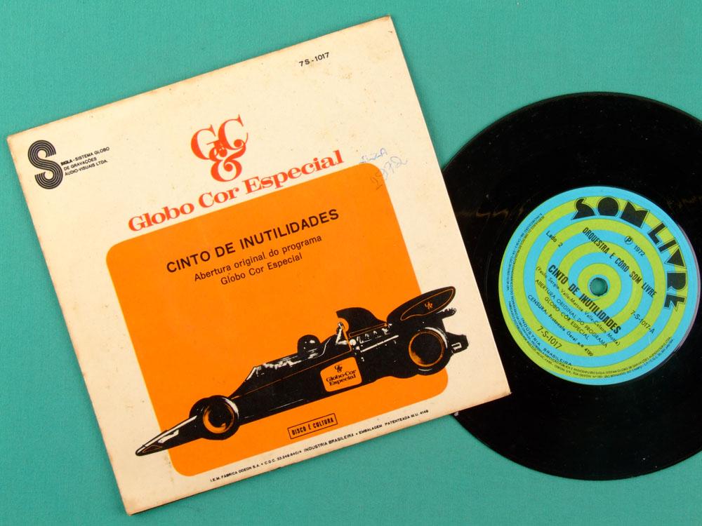 "7"" VILA SESAMO GLOBO COR ESPECIAL OST 1972 MARCOS VALLE FOLK MELLOW BRAZIL"