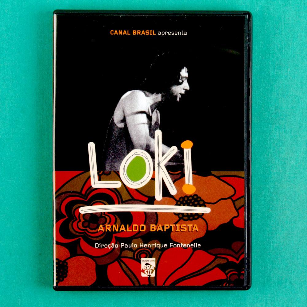 DVD ARNALDO BAPTISTA LOKI MUTANTES ROCK PSYCH BRAZIL