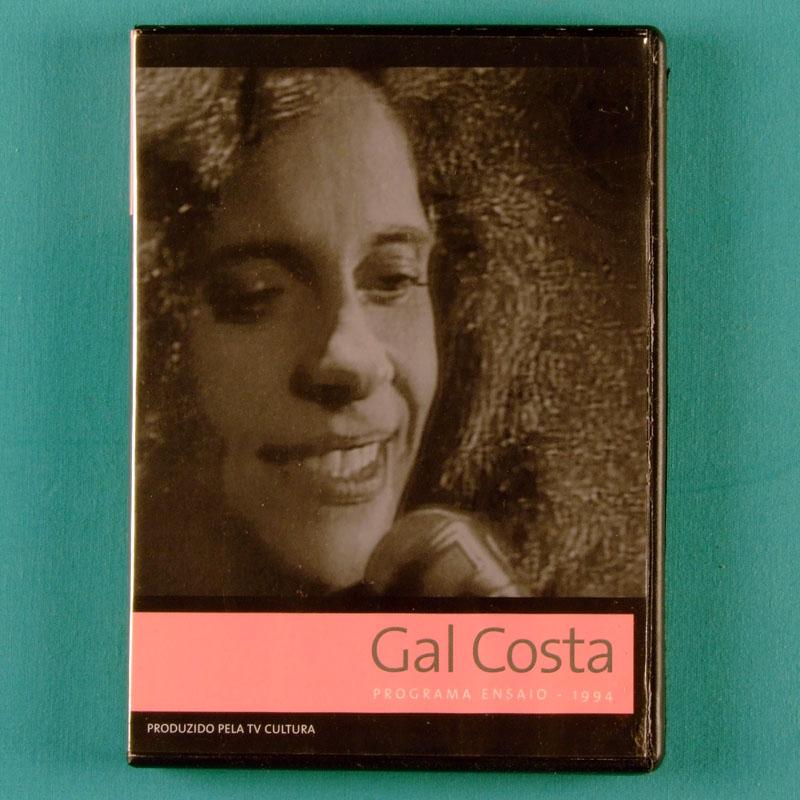 DVD GAL COSTA PROGRAMA ENSAIO TV SHOW CULTURA 73 BRAZIL