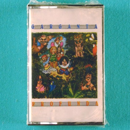 CASSETTE GARGANTA PROFUNDA CHOIR BEATLES VOCAL MILTON NASCIMENTO