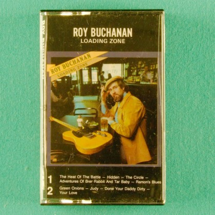 CASSETTE TAPE ROY BUCHANAN LOADING ZONE '77 BLUES GUITAR USA