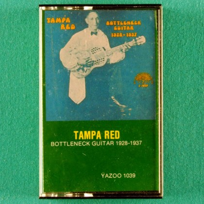 CASSETTE TAMPA RED BOTTLENECK GUITAR 1928-1937 SLIDE USA
