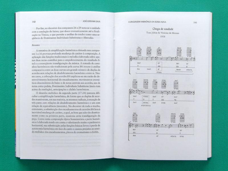 BOOK A LINGUAGEM HARMONICA DA BOSSA NOVA GAVA BRAZILIAN MUSIC STUDIES BRAZIL