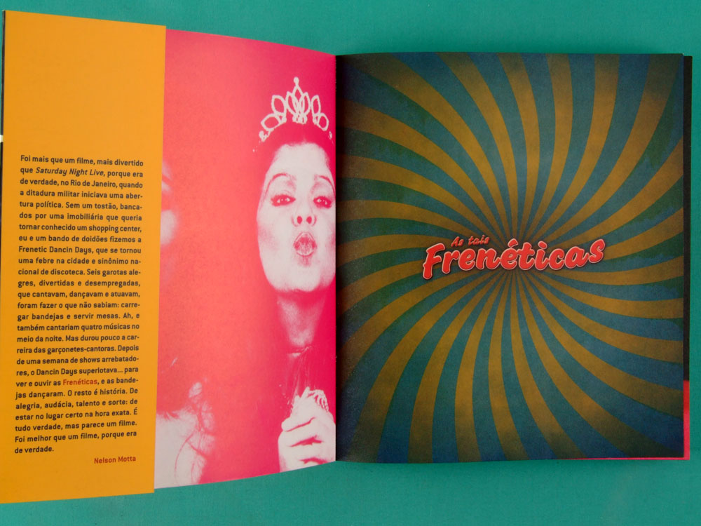 BOOK AS TAIS FRENETICAS EU TENHO UMA LOUCA DENTRO DE MIM SANDRA PERA 2008 DANCE GROOVE BRAZIL