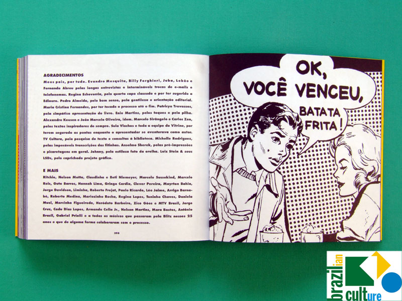 BOOK AS AVENTURAS DA BLITZ RODRIGO RODRIGUES DOCUMENTARY POP ART HUMOR BRAZIL