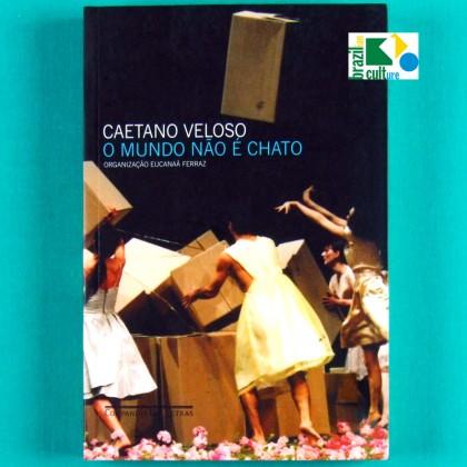 BOOK CAETANO VELOSO MUNDO NAO E CHATO TROPICALIA BRAZIL