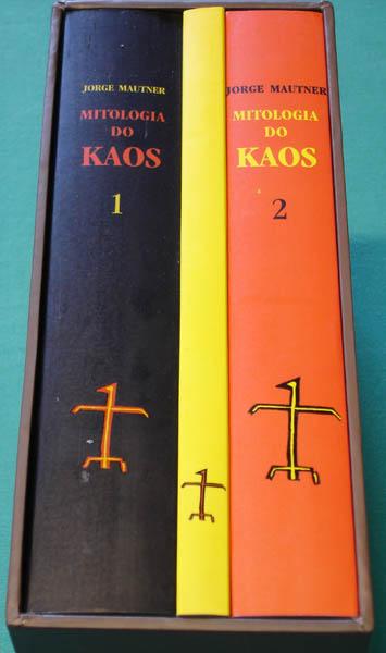 BOOK w/ CD JORGE MAUTNER MITOLOGIA DO KAOS PSYCH BRAZIL